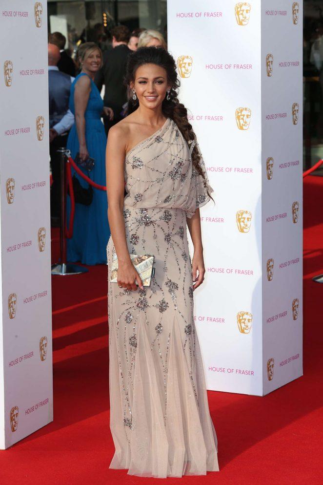 Hollywood Actress Michelle Keegan At TV Awards