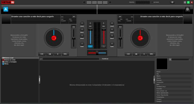 Atomix Virtual DJ Pro 8.2 Full Español