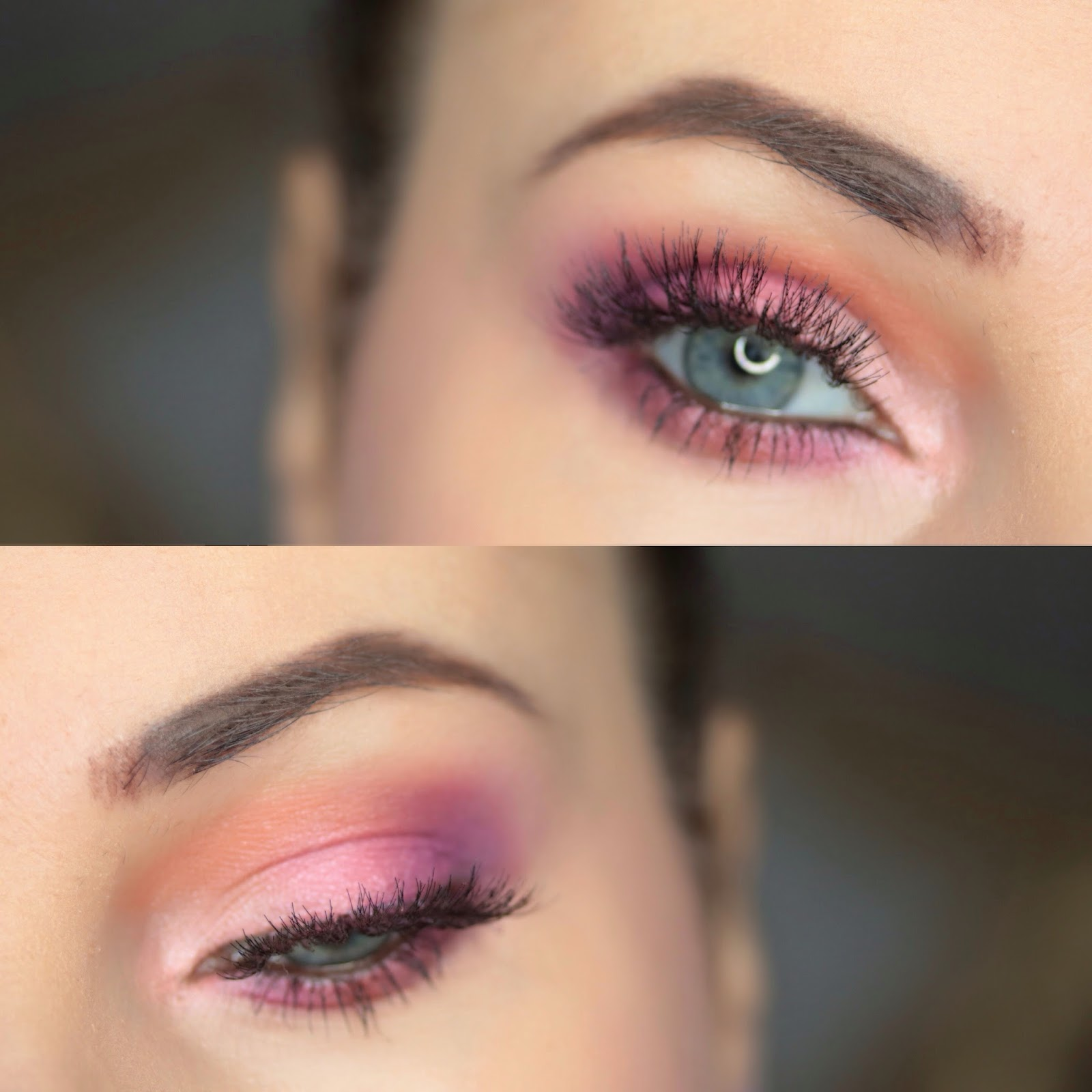 Orange, Pink and Purple - Colorful Morphe Makeup