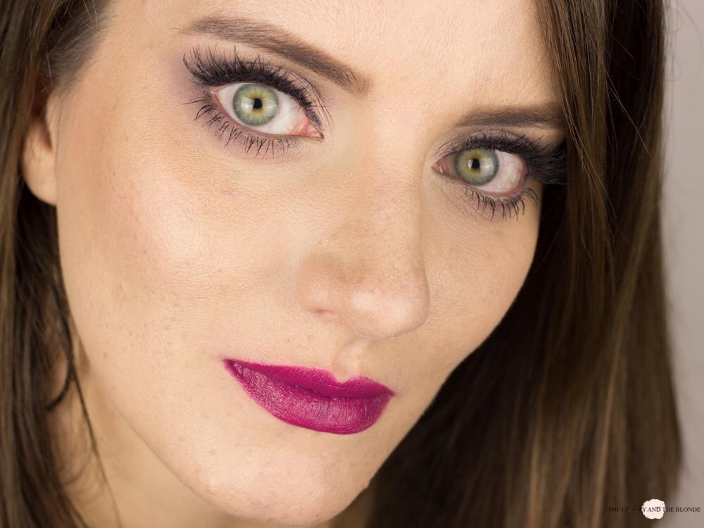 Lorac Pro Palette Soft Lilac Look AMU Makeup Matte Eyeshadow