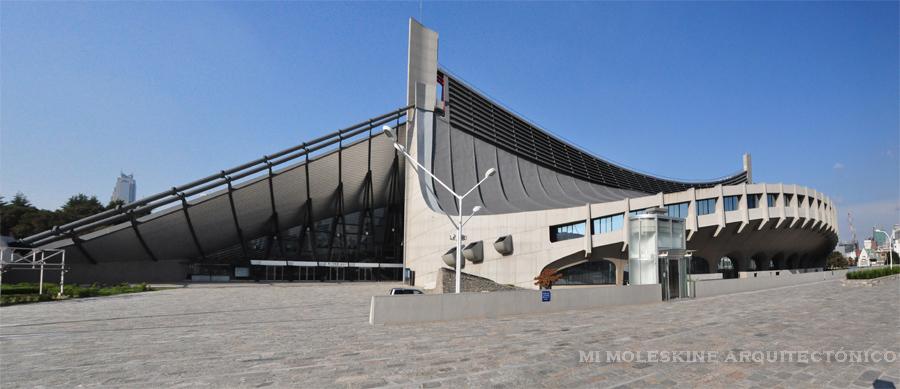 My Architectural Moleskine 174 Kenzo Tange Yoyogi National
