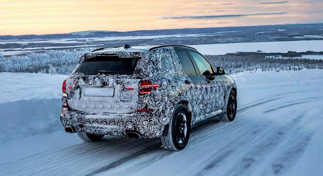 BMW X7 spied testing in South Africa