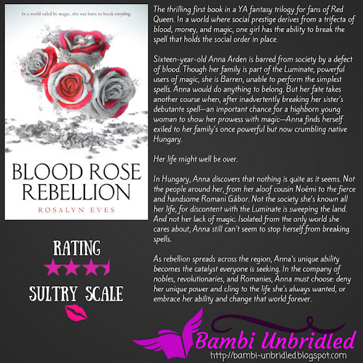 ARC Review: Blood Rose Rebellion by Rosalyn Eves