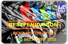 Sewa motor di Nusa Penida