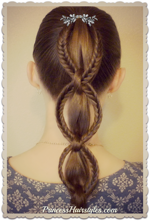 How To Make A Fishtail Chain Braid Ponytail Hairstyle