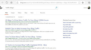 get more traffic to your new blog