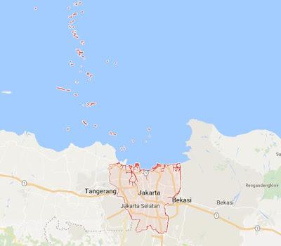 Peta Wilayah Provinsi DKI Jakarta