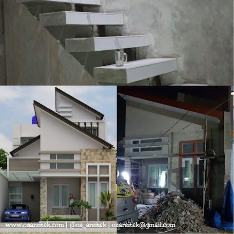 Progress Desain Rumah Karya Oz Arsitek