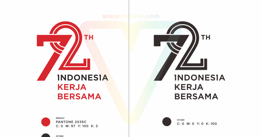 logo resmi hut ri ke72 kemerdekaan indonesia vector cdr ai eps svg png jpg voluvo