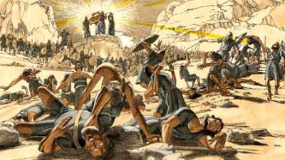 Amaleque é derrotado por Israel