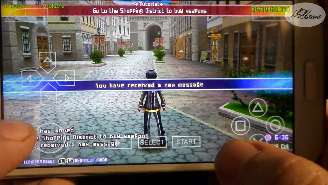Psp Ppsspp Sword Art Online Infinity Moment English Patched On Android