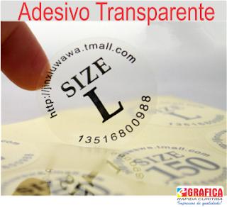 adesivos transparente de Curitiba
