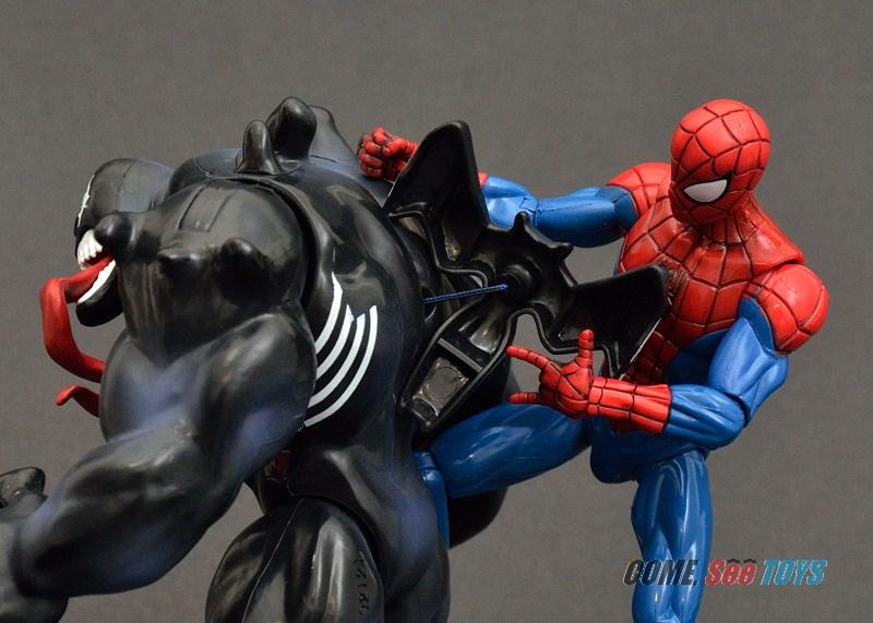 ultimate spider man venom toy - photo #7