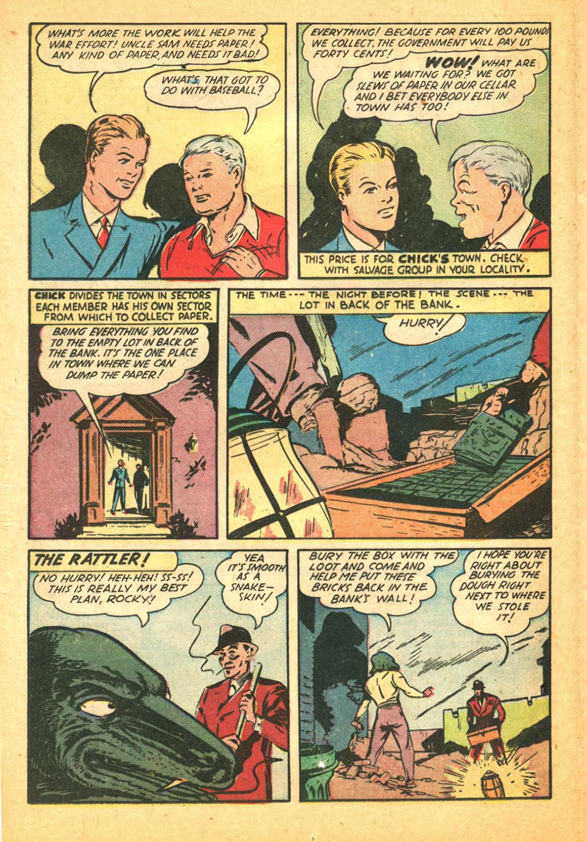 Read online Shadow Comics comic -  Issue #38 - 28