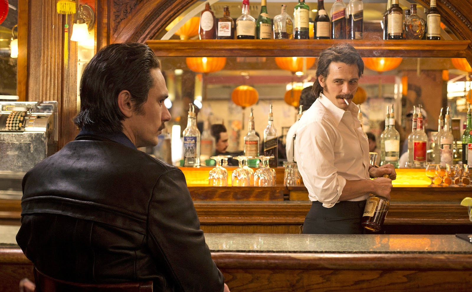 Vincent y Frankie, los gemelos interpretados por James Franco en The Deuce