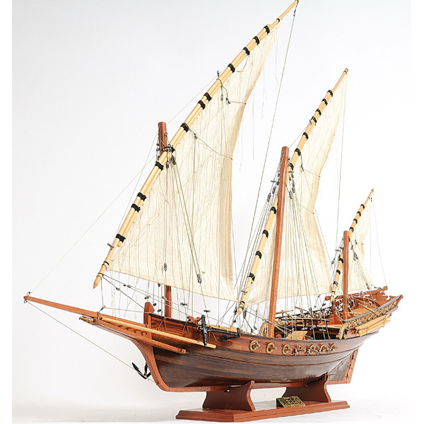Xebec Boat Model