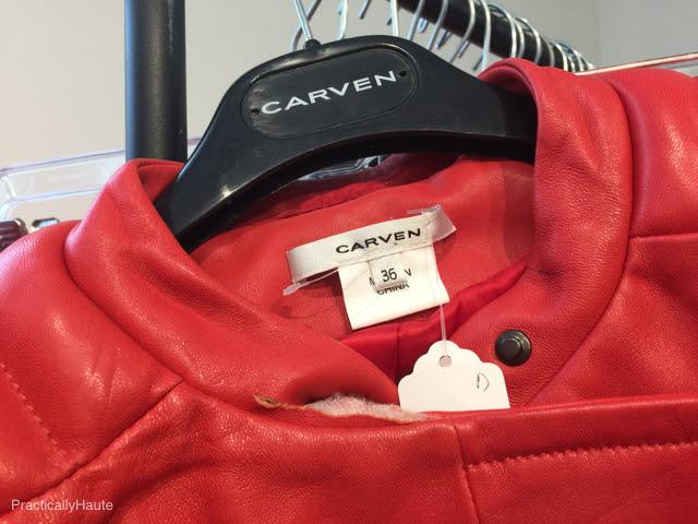 Carven sample sale