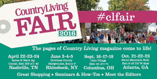 Country Living Fair Ticket Giveaway!