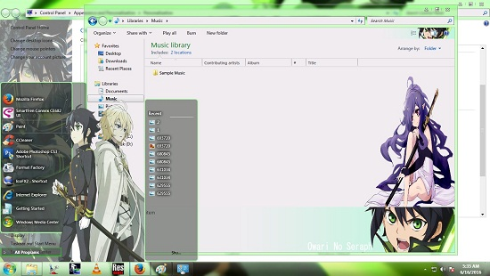 Theme Windows 7,8/8.1 Owari No Seraph [Hyakuya Yuichiro] 3