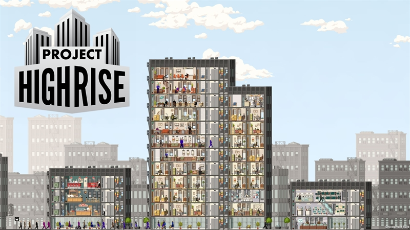 Project Highrise Game Free Download Poster