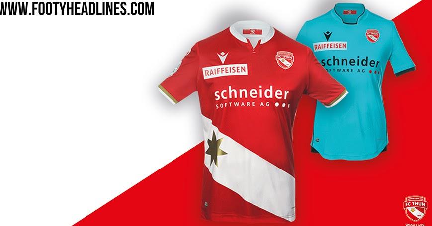 FC Thun 19-20 Home & Away Kits Released