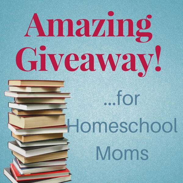 Homeschool mom giveaway