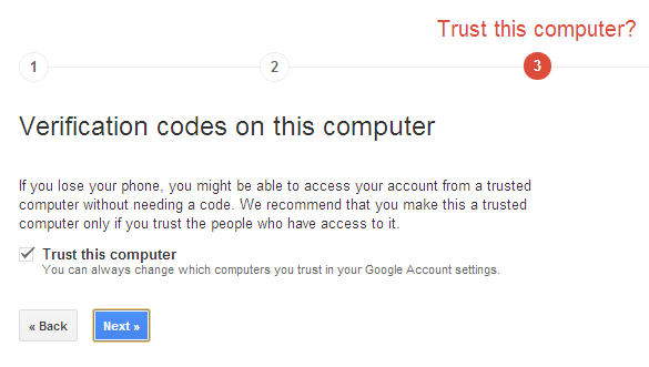 How To Set Up 2 Step Verification In Gmail