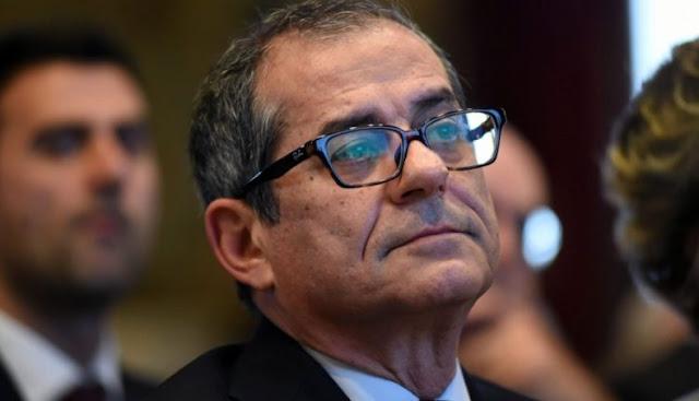 Mε το καλημέρα ο νέος Υπουργός οικονομικών της Ιταλίας «Γιατί να φύγουμε εμείς; Να φύγει η Γερμανία.»