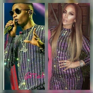 Wizkid And Jennifer Lopez Gucci fit