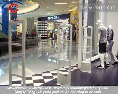 Cổng từ an ninh - Giải pháp chống trộm hữu ích cho cửa hàng.