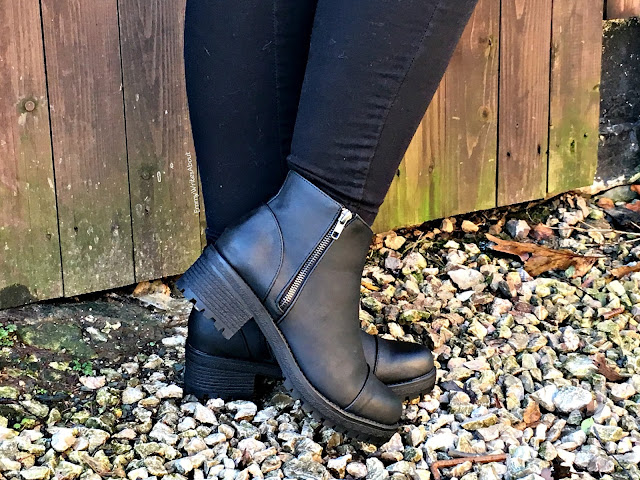 Chunky Cleated Sole Boots