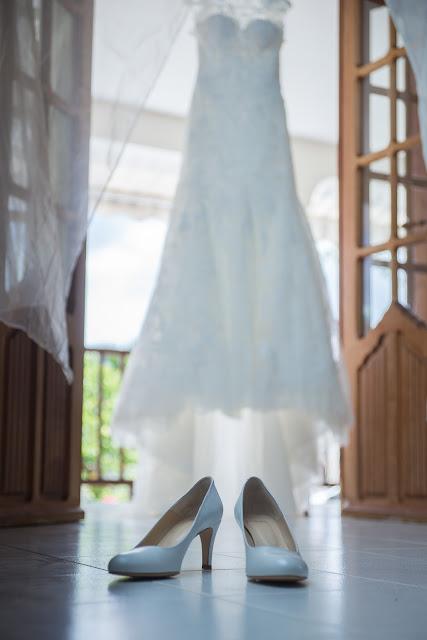 robe et chaussures de mariée en guadeloupe