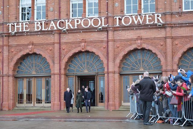 Wizyta Kate i Williama w Blackpool