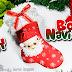 Bota o calcetín navideño en foamy o goma eva