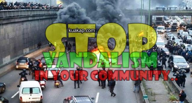 Vandalisme Merajalela Di Indonesia Saat ini, Apa Sih Pengertian Vandalisme itu ?