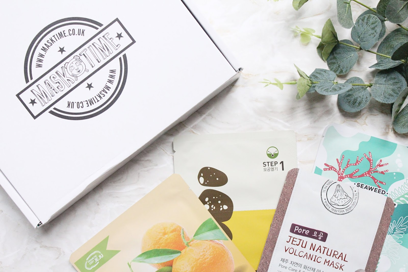 Mask Time Sheet Mask Subscription Box