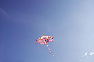 Мы сделали это!))) Наш воздушный змей летиииит!!!