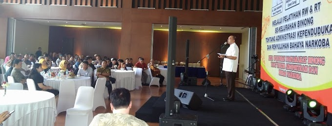 Forum RW/RT Binong Ikuti Pelatihan Kependudukan