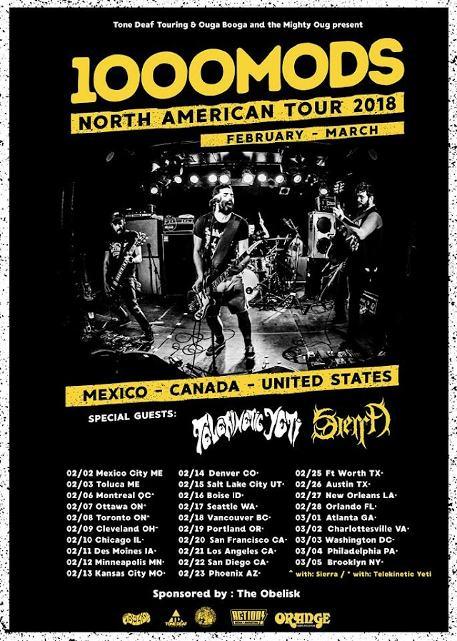 [News] 1000mods North American tour 2018