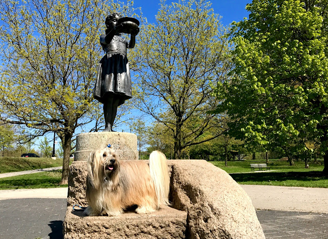 Fountain Girl Lincoln Park Chicago Rocco Havanese