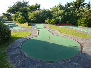 Gilmore's Crazy Golf course in Newquay