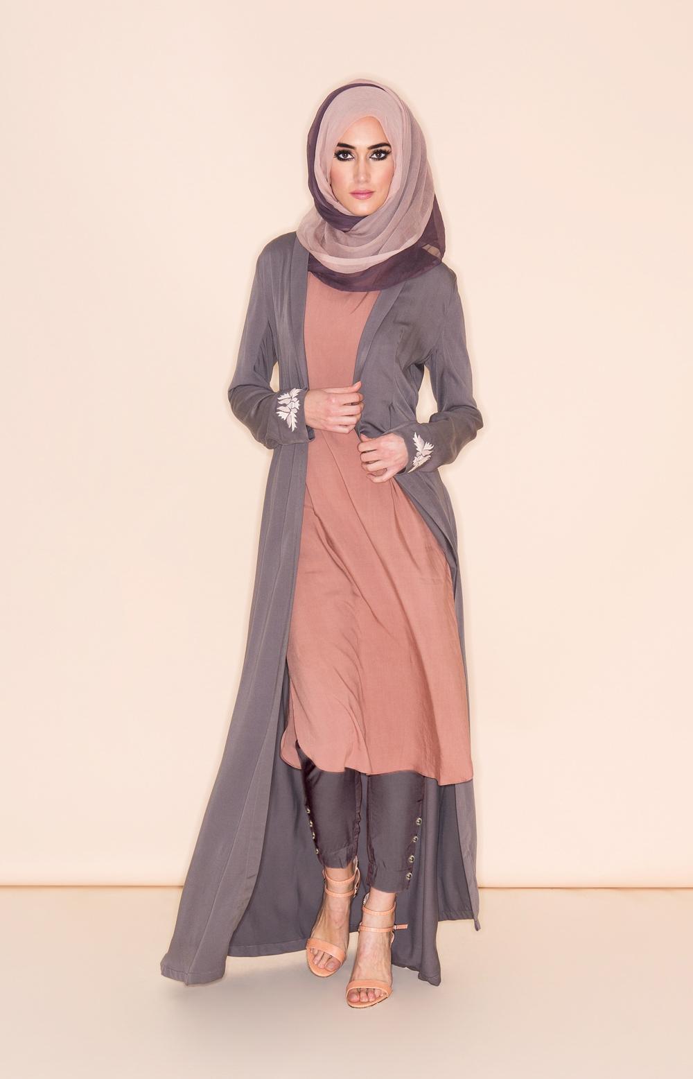 10+ Contoh Model Baju Muslim Terbaru 2017