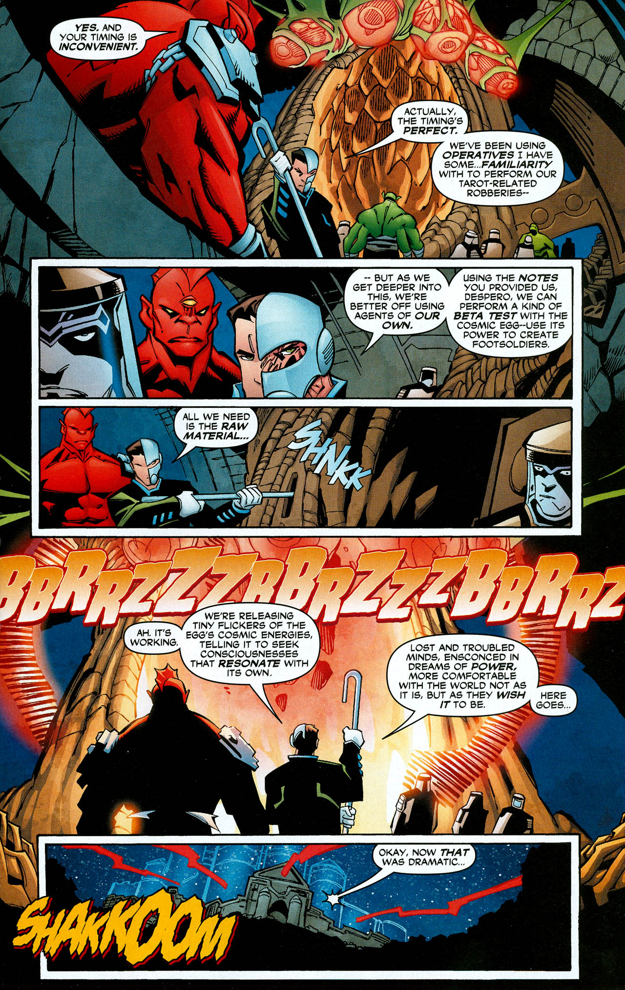 Read online Trinity (2008) comic -  Issue #8 - 27