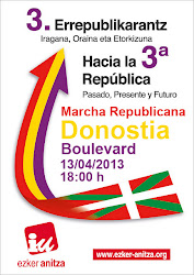 Marcha Republicana 13 Abril
