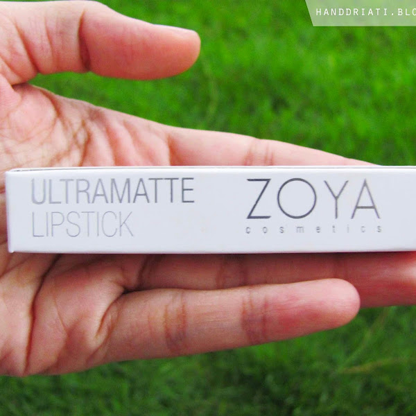 Review Ultramatte Lipstick by Zoya Cosmetics