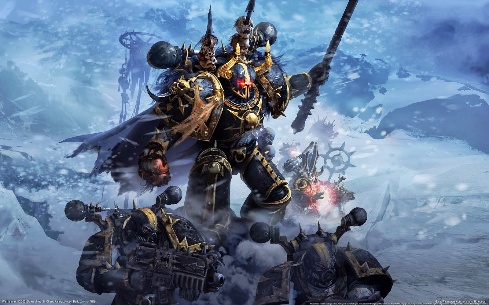 Chaos Space Marine Wallpaper | Space Wallpaper