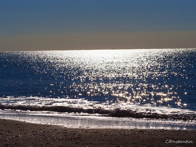 Marea Tirenianã la Lido di Ostia - blog FOTO-IDEEA