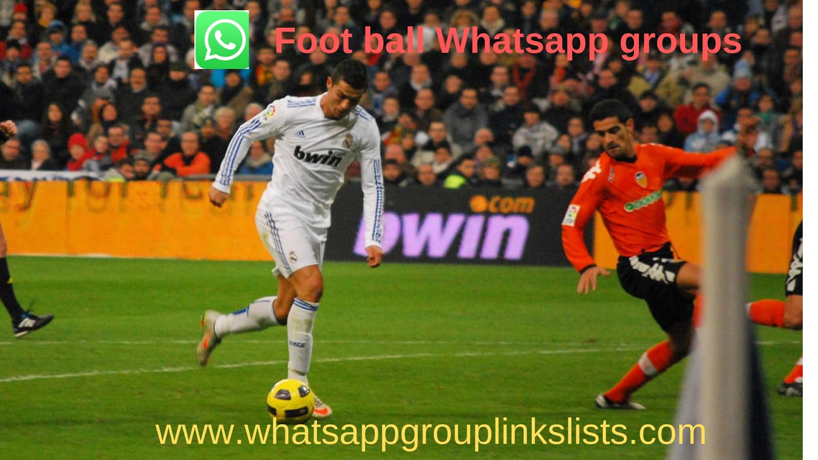 Join latest Football Whatsapp Group Links List