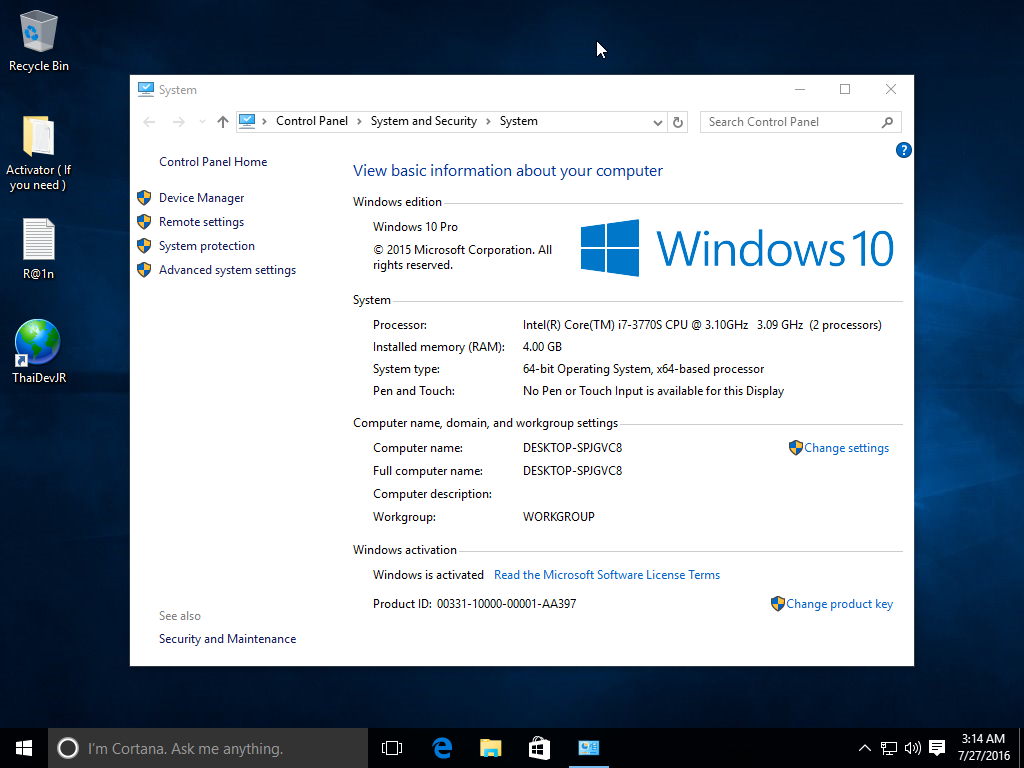 windows 10 os free download 32 bit full version