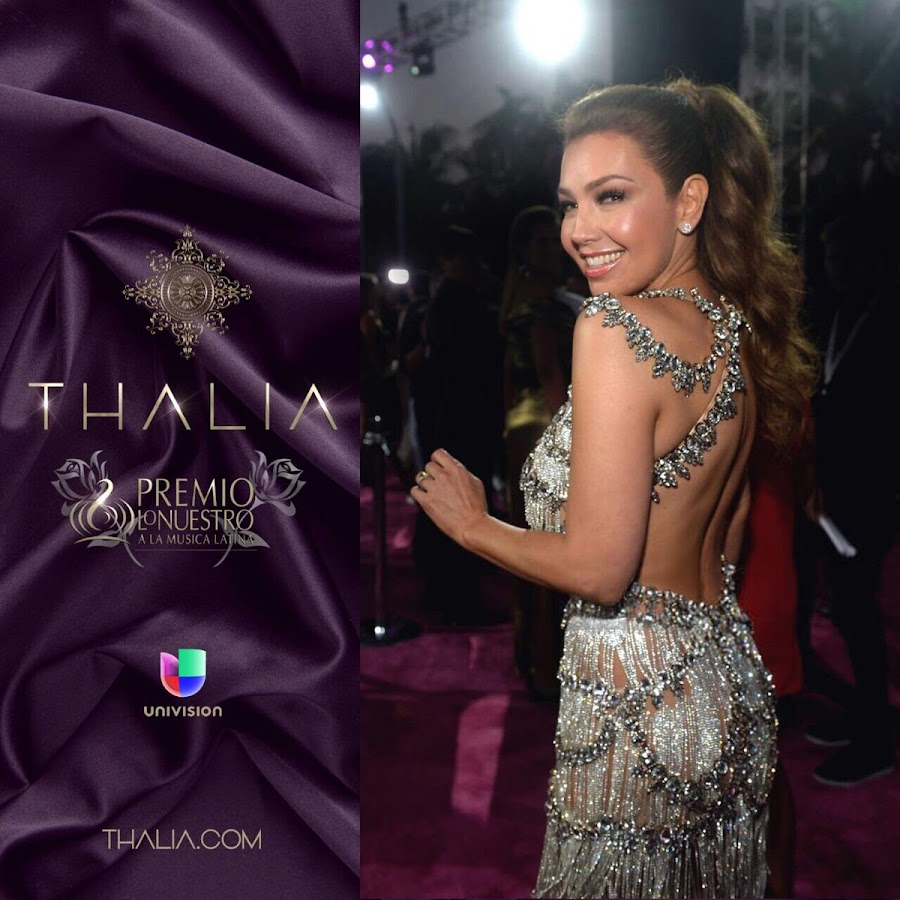 Thalia y La alta costura de Giannina Azar